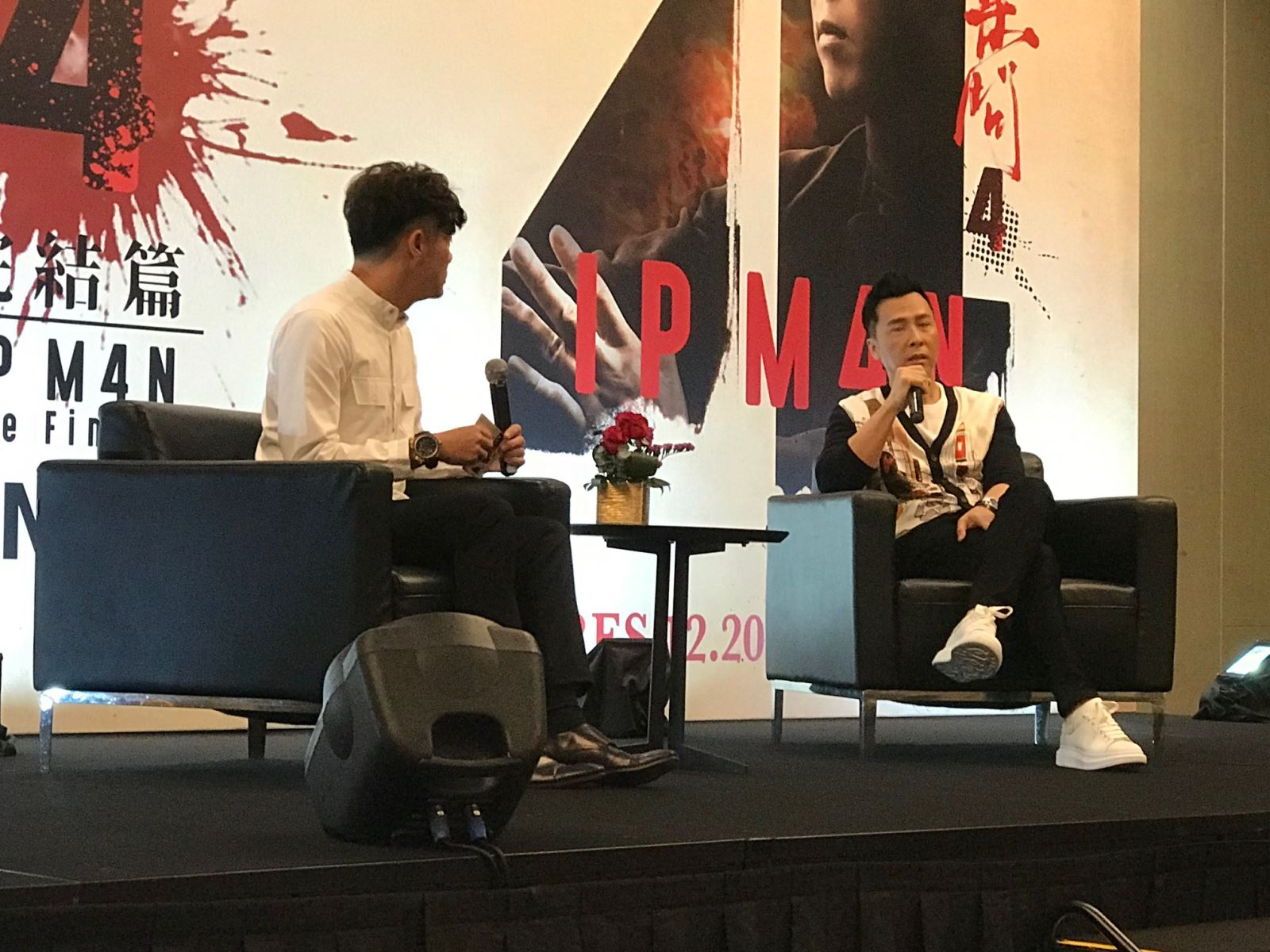 Ip Man 4 The Finale Press Conference